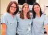 From left to right: Dr. Julie Moore, Dr. Tiffaney Kittmer and Dr. Monica Torres.