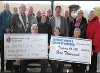 The Knights of Columbus donated $24,000 and the Catholic Women's League of Goderich donated an additional $5,000 to kick off the 100 day dialysis camp
