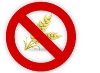 No wheat sign