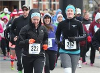 The seventh annual Run Around the Square raised over $9,000 for the Dave Mounsey Memorial Fund