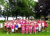 The fundraising golf tournament held at Sunset Golf Course on Sunday, July 9, saw 70 golfers hit the links in support of the fight against breast canc