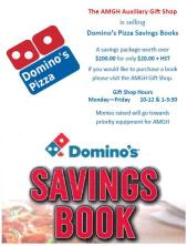 Domino's Pizza Coupon Fundraiser