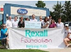 The Rexall Foundation made a $35,000 donation to the Alexandra Marine and General Hospital Foundation during the Rexall Customer Appreciation Event in